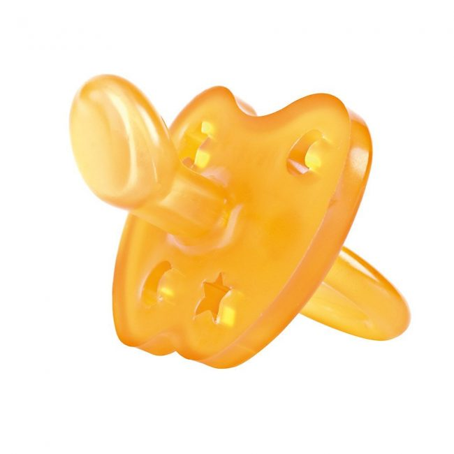 HEVEA Star and Moon Orthodontic Natural Rubber Pacifier