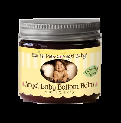 Earth Mama Angel Baby Bottom Balm 2oz 60 Ml Free
