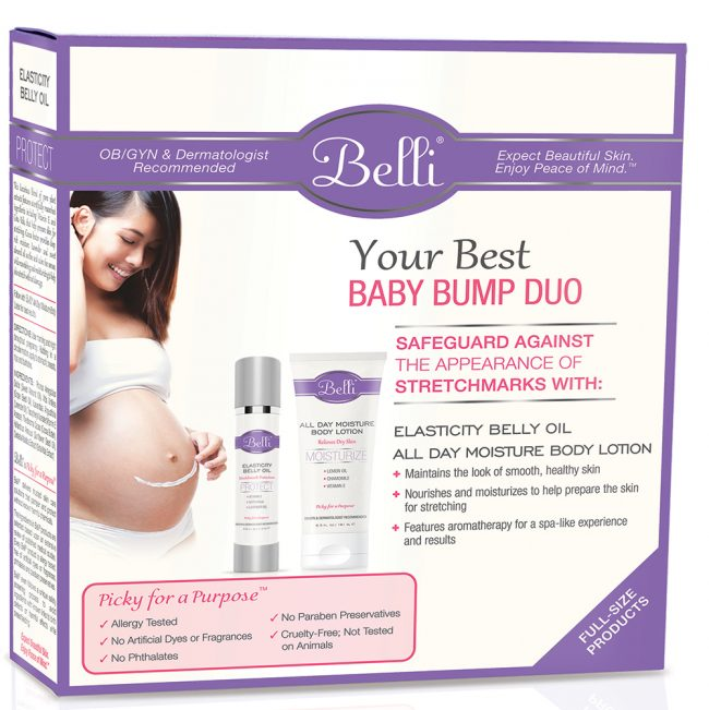 Belli Your Best Baby Bump Duo Value Pack
