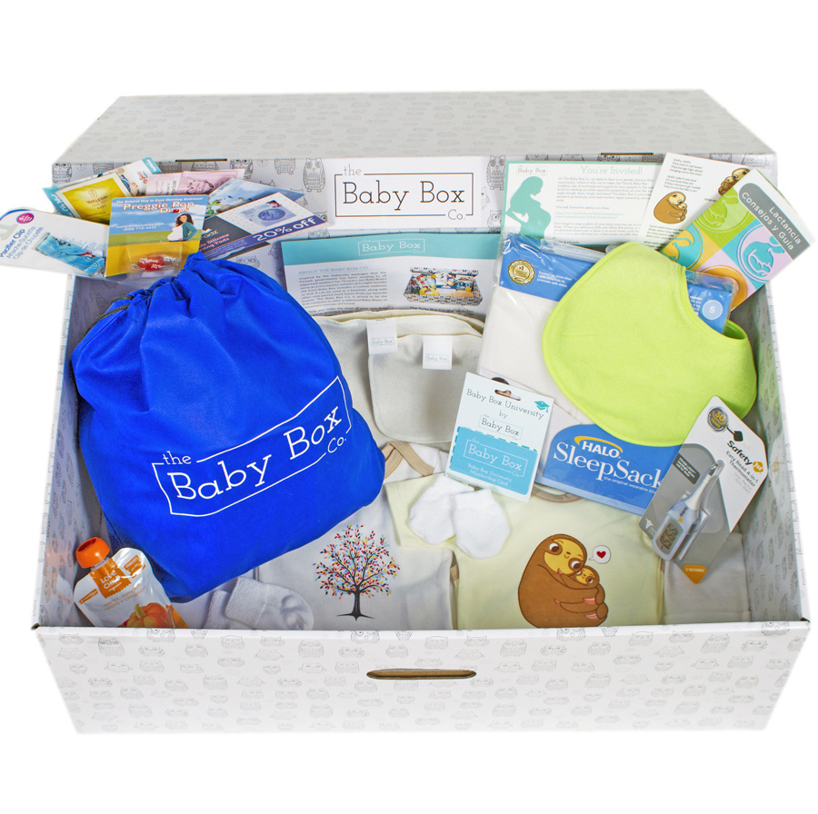Finnish Baby Gift Box : Finnish baby box classic free shipping over