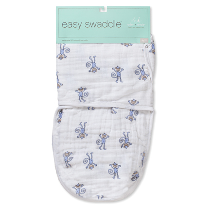 Jungle Jam Monkey Easy Swaddle by Aden and Anais