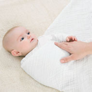 Swaddling Your Baby Step 2