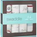 Aden and Anais Liam the Brave Muslin Swaddle Blanket 4 pack