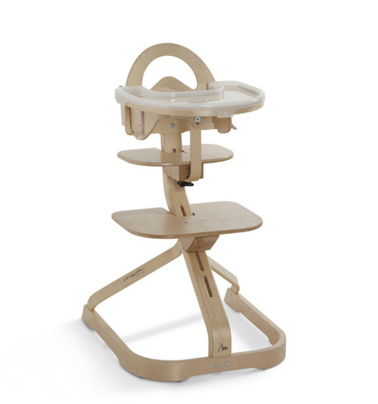 SCI SVAN Natural Signet Complete Highchair with tray cover