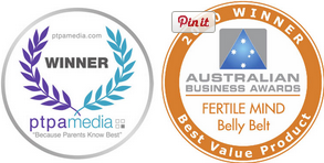 Belly Belt by Fertile Mind is an award winning product