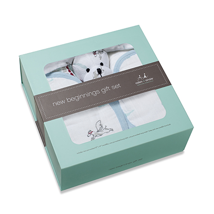 aden + anais New Beginnings Gift Set Box Liam The Brave Item No. 1201
