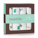 Jungle Jam Classic Swaddles 4 Pack by aden and anais