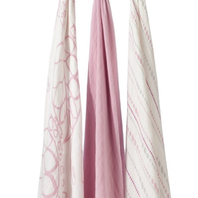aden + anais tranquility bamboo swaddle blanket