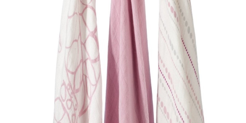 Tranquility Bamboo Swaddle Blanket (3-Pack) by Aden + Anais