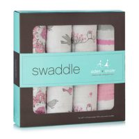 For The Birds Classic Swaddles by aden and anais Box Set Muslin Swaddles
