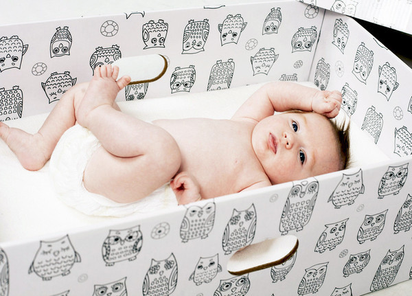 Finnish Baby Box, Owl Design