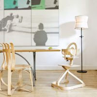 Svan Signet Complete High Chair at the Table