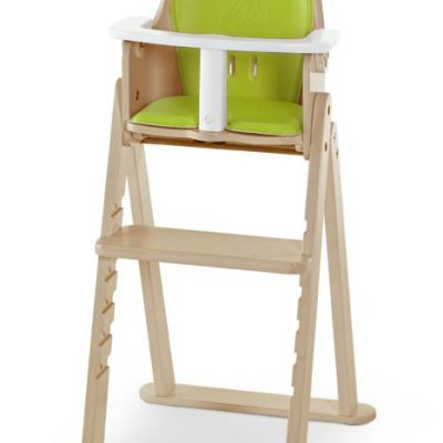 SCI SVAN Scandinavian Child Baby to Booster Highchair No Tray with Guard Crotch Bar Natural Lime