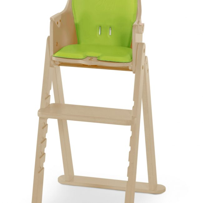 SCI SVAN Scandinavian Child Baby to Booster Highchair No Tray Natural Lime