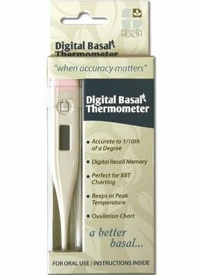 Digital Basal Fertility Thermometer