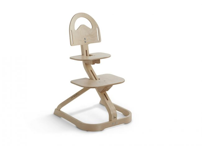SCI SVAN Scandinavian Child Natural Signet Essential Highchair