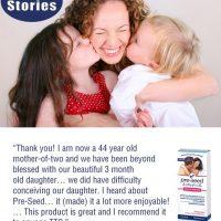PreSeed Sperm Friendly Lubricant Testimonial