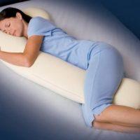 SnoozerPedic DreamWeaver Memory Foam Full Body Pregnancy Pillow