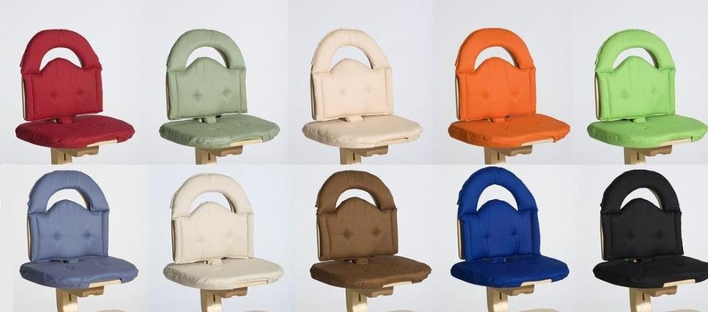 High Chair Cushion With Straps