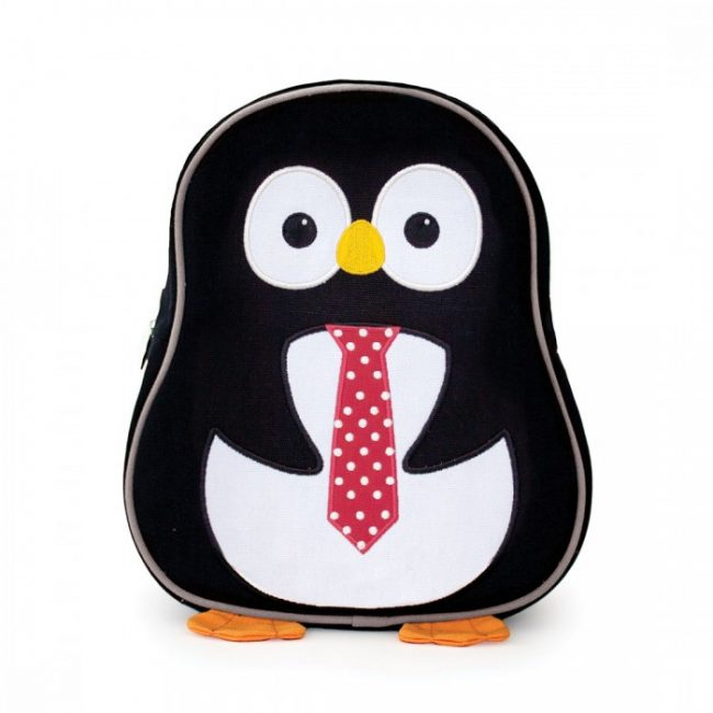 Apple Park Penguin Toddler Backpack