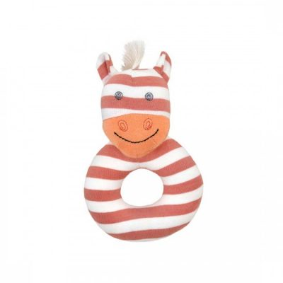 Poncho the Pony Teething Rattle by Organic Farm Buddies by Apple Park