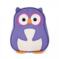 Apple Park Purple Owl Toddler Backpack