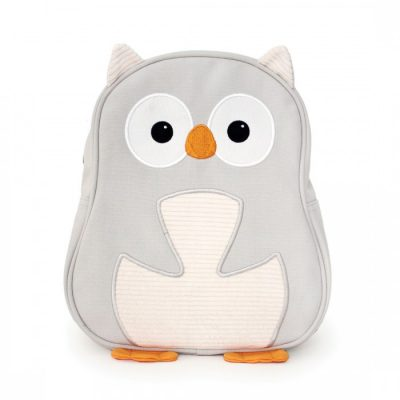 Apple Park White Owl Toddler Backpack
