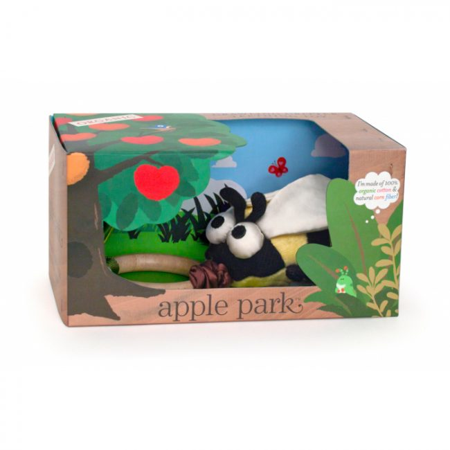 Apple Park Crawling Bee Teething Toy