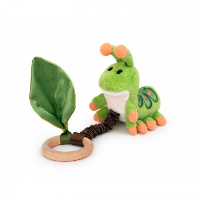 Apple Park Crawling Caterpillar Teething Toy
