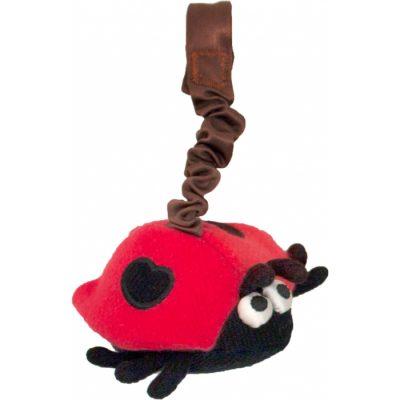 Apple Park Ladybug Stroller Toy
