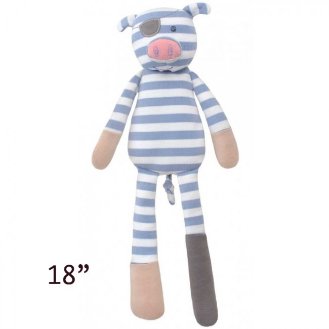"Apple Park's Organic Farm Buddies Pirate the Pig 18"" Plush Toy"
