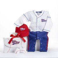 Baby Baseball Layette Set for Boy