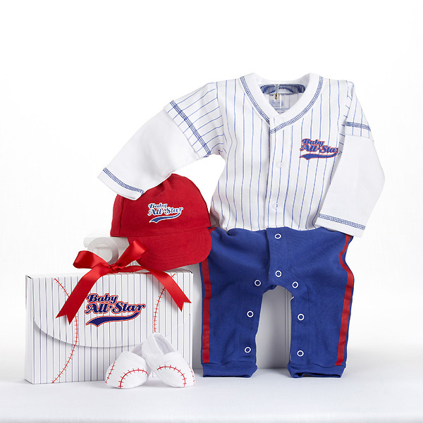 Baby Baseball Layette Set for Boy