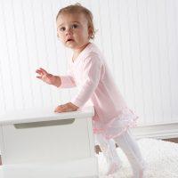 """Big Dreamzzz"" Baby Ballerina Two-Piece Layette Set in ""Studio"" Gift Box Baby Aspen"