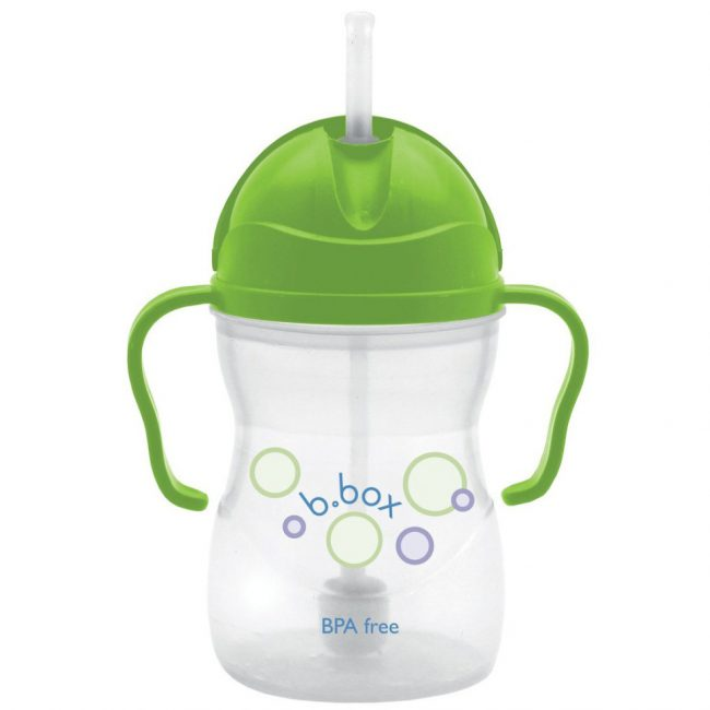 B. Box Essential Sippy Cup Apple Green 8 oz