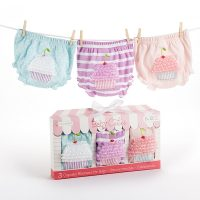 """Baby Cakes"" Set of Three Cupcake Bloomers"