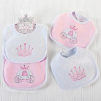 "Baby Aspen ""Little Princess"" Bibs"