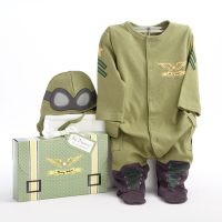 Baby Aspen Baby Pilot Outfit