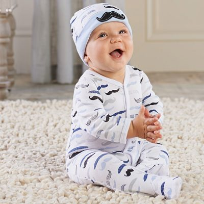 "Baby ""Little Man"" Pajama Gift Set"