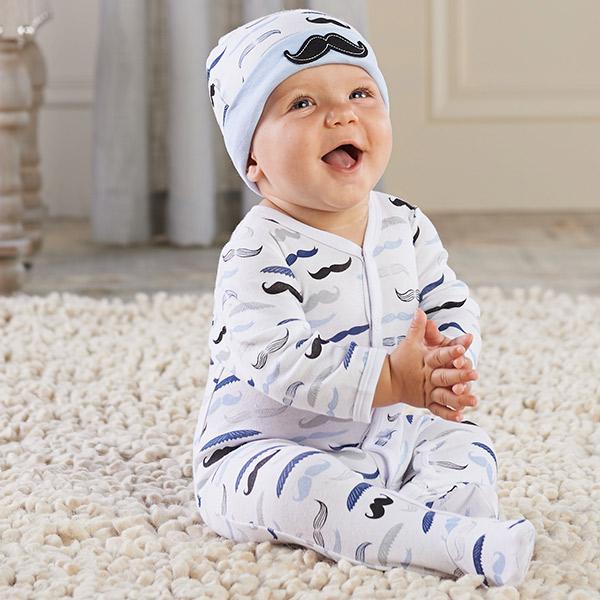 "Baby ""Little Man"" Pajama Gift Set"