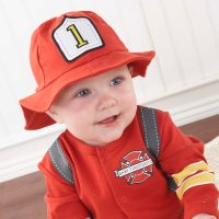 Baby Aspen Firefighter Baby Outfit for Boy