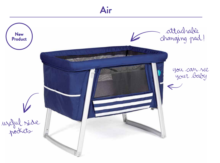 Why buy the Babyhome AIr Bassinet