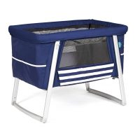 Babyhome AIR Bassinet, Portable Crib in Sailor Blue color