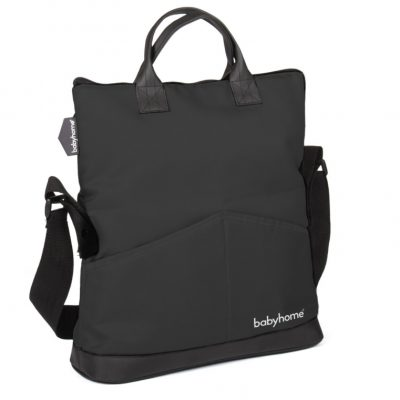 Babyhome Trendy Diaper Bag in Black for Emotion Stroller