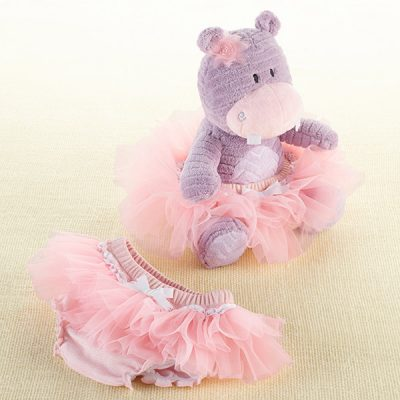 """Lady Lulu and Baby's Tutu"" Plush Plus Bloomer for Baby by Baby Aspen"