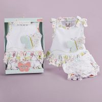 """Baby Aspen """"Butterfly Kisses"""" Tunic and Bloomer Set"""