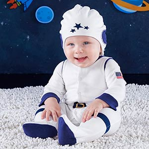 Baby Astronaut 2 piece layette set