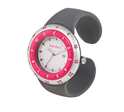 Benbini Watch for Moms in Pink and Gray
