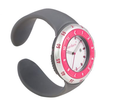 Benbini Watch in Pink and Gray