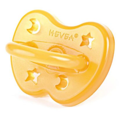 Hevea Moon and Star Orthodontic Pacifier